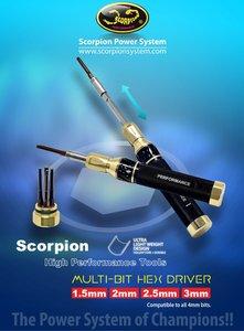 Scorpion multi bit tool hex driver