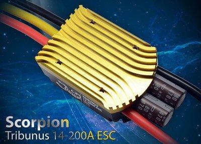 Scorpion TRIBUNUS II 14-200A (SBEC) Brushless Regler 4-14S Lipo