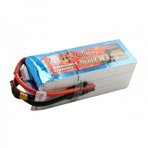 Gens ace 5800mAh 22.2V 45C 6S1P Lipo Battery Pack
